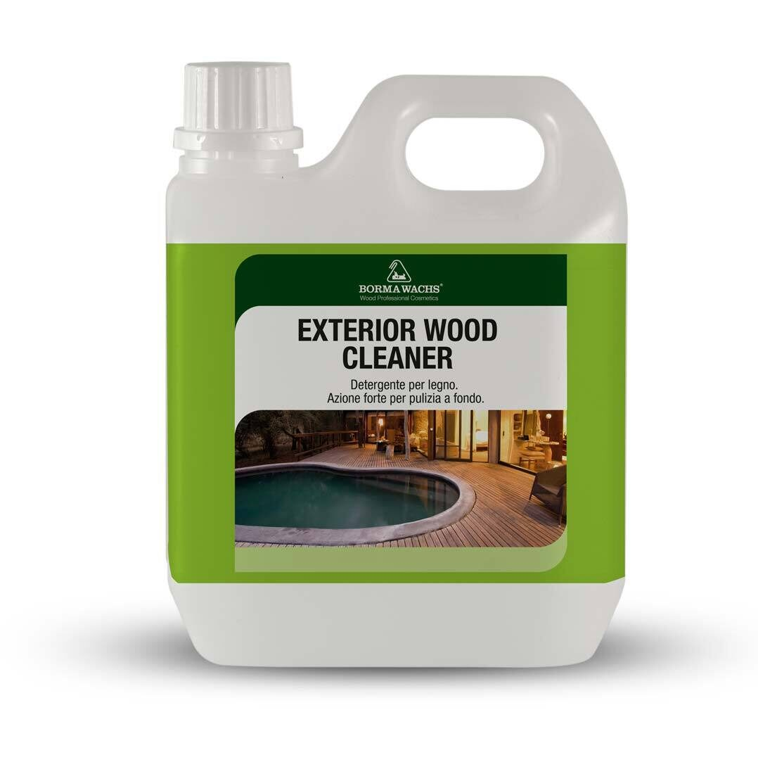 Exterior wood cleaner 1 - Woodsman premium exterior wood care ...